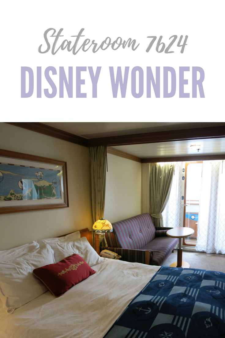 Disney Cruise Verandah Rooms: Navigator's Verandah Stateroom