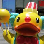 The B Duck 10th Anniversary Amusement Park – iSquare, Hong Kong