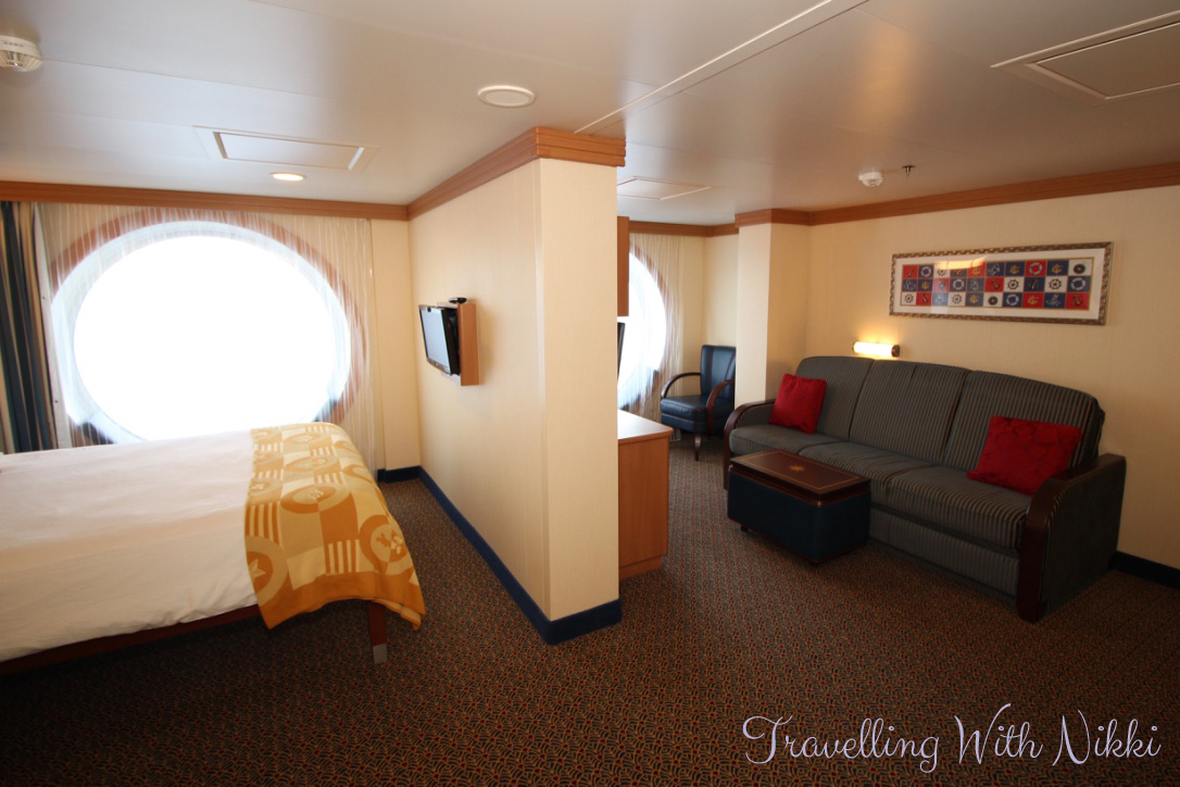 Disney Dream Deluxe Oceanview Stateroom 5522 Travelling