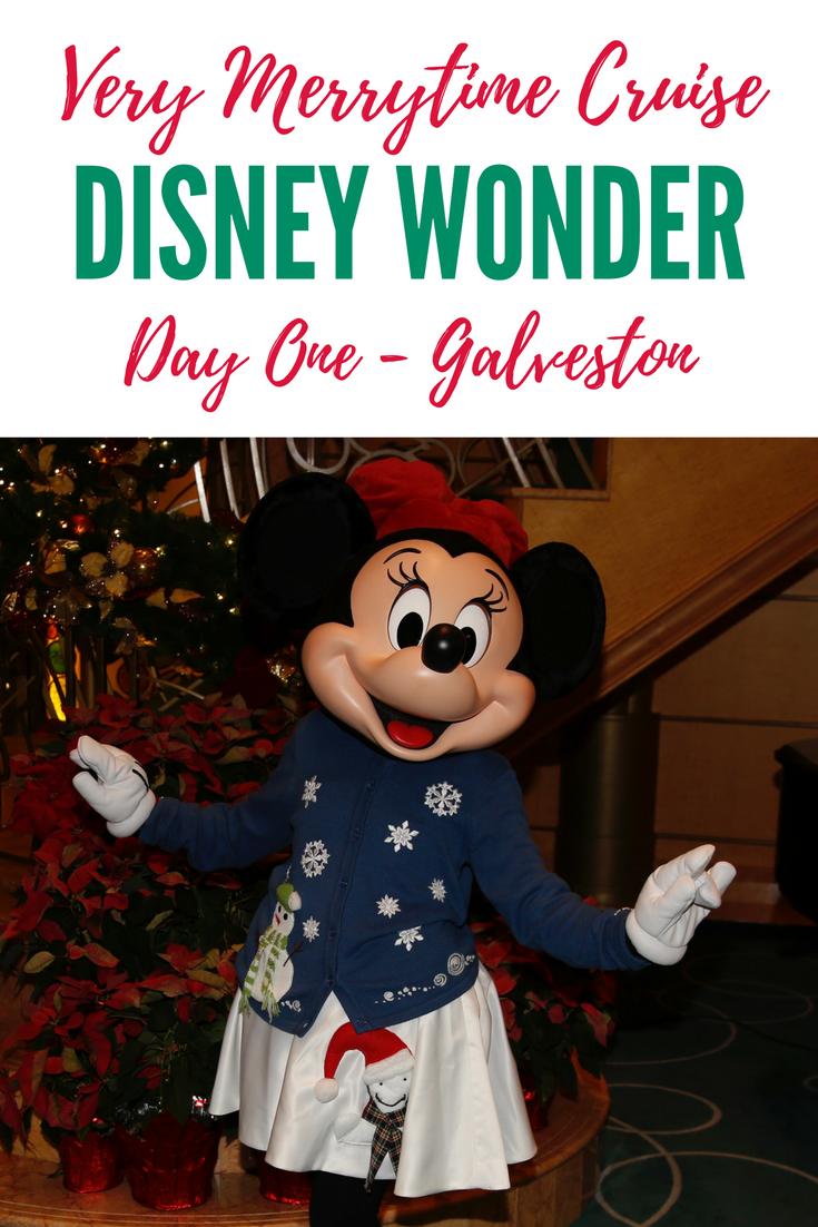 Disney Cruise Merry Christmas Galveston 2021 Disney Wonder Very Merrytime Cruise Day One Galveston Texas Travelling With Nikki