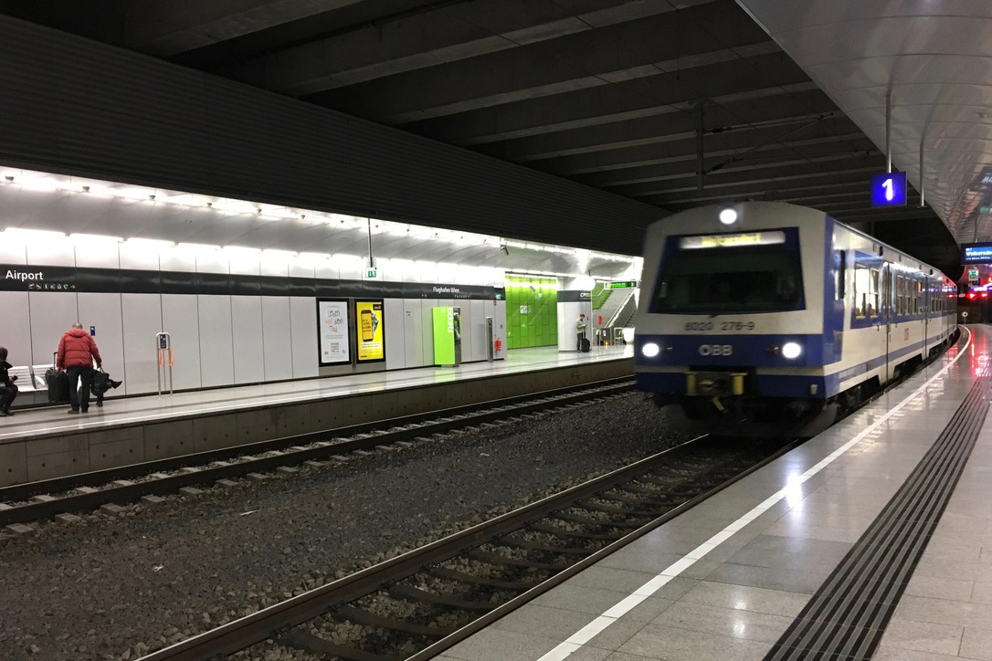 How To Get From Vienna Airport To Vienna By The S Bahn Travelling